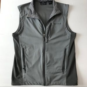 Marmot Gore Windstopper Grey Vest